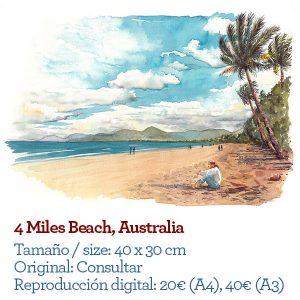 Australia four miles beach