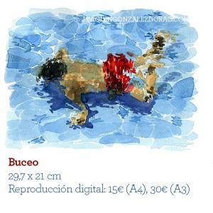 Acuarelas Buceo