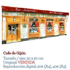 Cafe Gijon Madrid