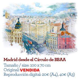 Madrid desde el Círculo
