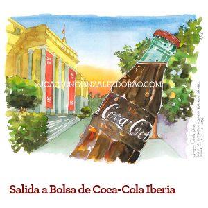 acuarela museo Coca Cola