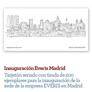 dibujo madrid skyline