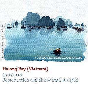 Vietnam acuarela