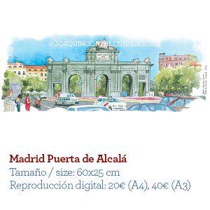 Acuarela Madrid
