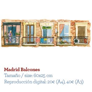 Balcones de Madrid