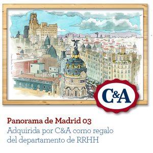 Acuarela de Madrid