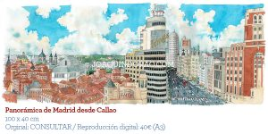 Skyline Madrid Callao