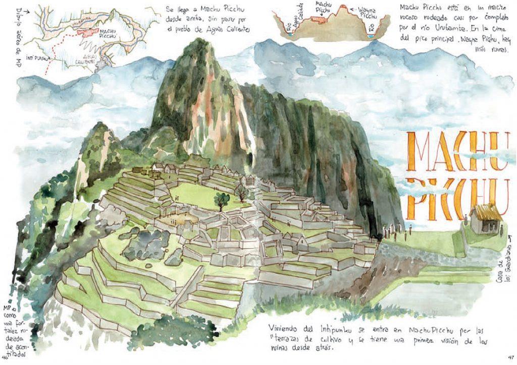 Peru cuaderno de viajes