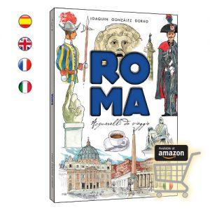 Roma acuarelas de viaje