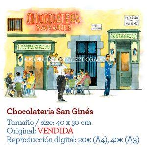 San Gines Chocolateria Madrid