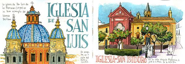 Sevilla acuarela