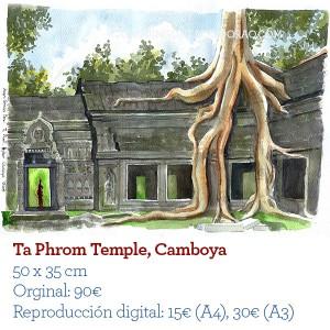 Ilustrador acuarela TaPhrom