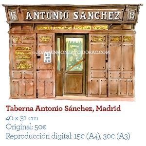 Acuarela TabernaAntonio