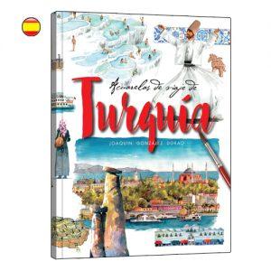 Acuarelas de Turquia libro de viajes en acuarela