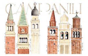 Venecia acuarelas