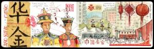 Ilustración acuarela Año Nuevo Chino