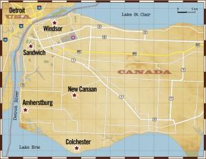 Detroit area