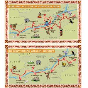 Mapas Rutas India