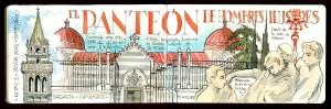 Ilustracion Panteon de hombres Ilustres Madrid