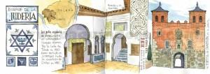 ilustrador acuarela barrio juderia