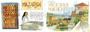 ilustrador acuarela museo victorio macho