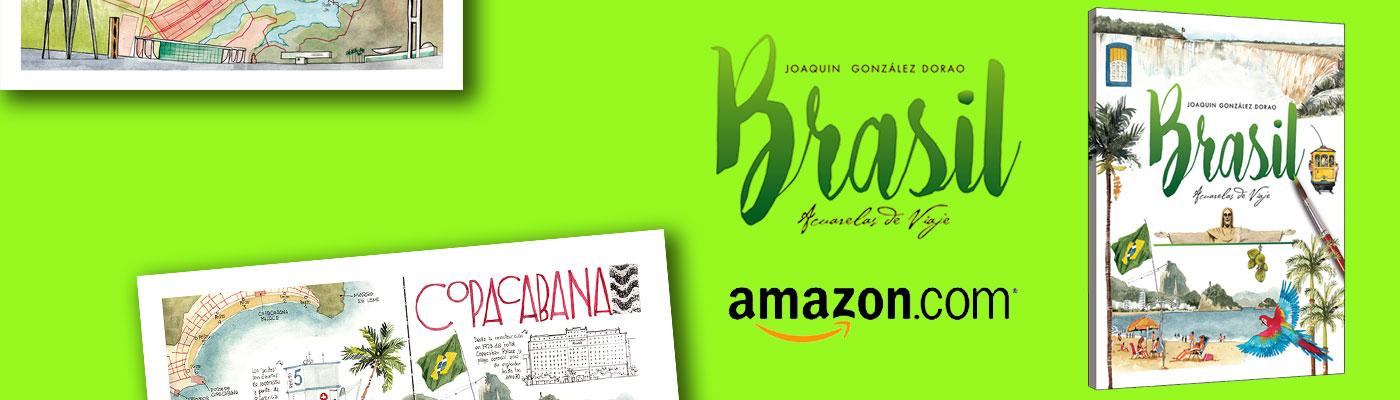 Libro de acuarelas de BRASIL