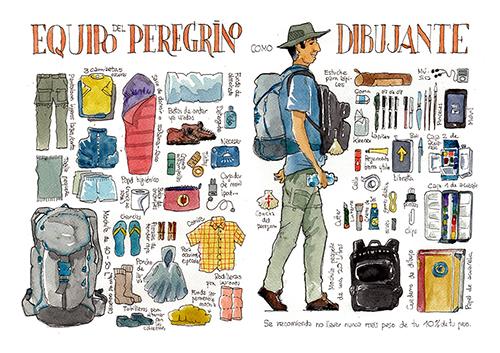 Camino de santiago Cuadernos de viaje