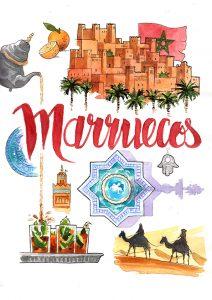 Cuadernos de Viaje Marruecos Morocco