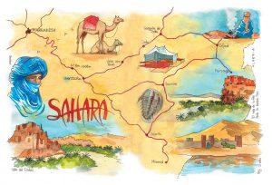 Cuadernos de viaje Sahara Marruecos