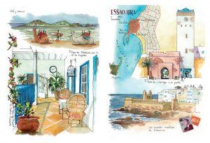 Acuarela Essaouira