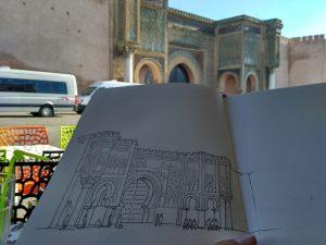Meknes Bab Al Mansour