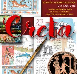 Creta cuadernos de viaje