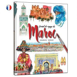 Maroc carnet de voyage aquarelle