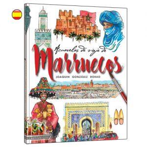 Marruecos libro acuarela