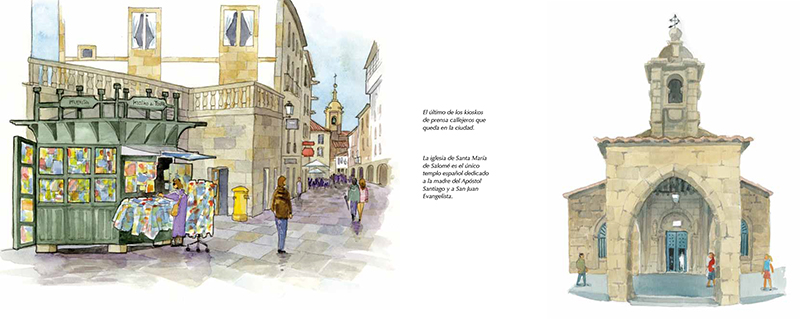 Cuaderno de viaje de Santiago
