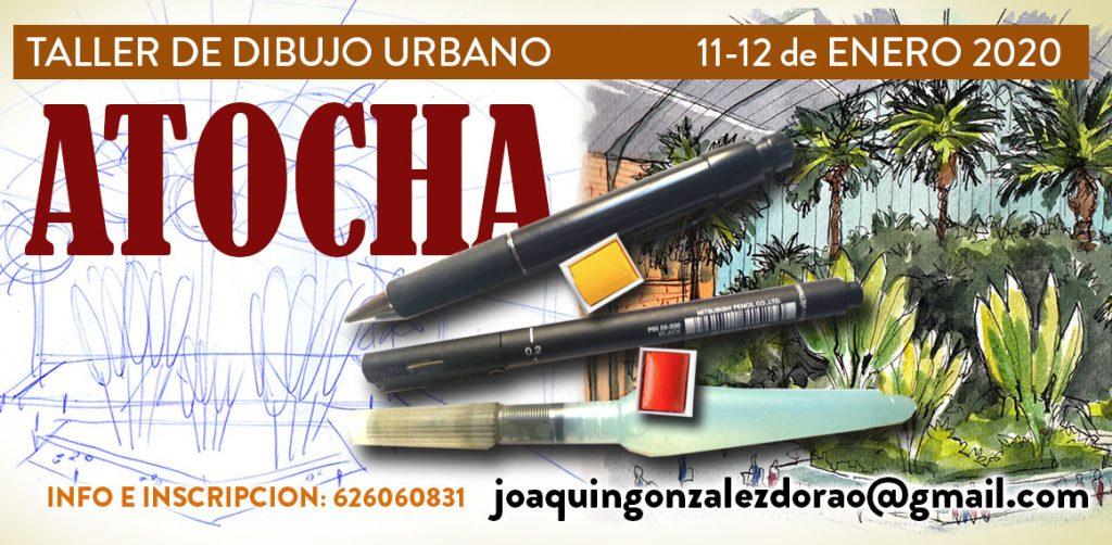 taller dibujo urbano urbansketchers