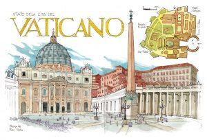 Italia acuarelas watercolors