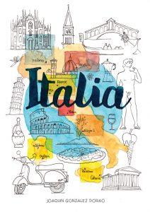 Italia acuarelas