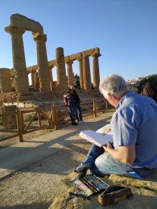 Acuarelas de Sicilia 2020 sketching