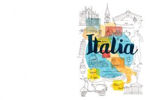 Acuarela Italia