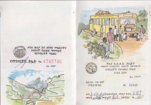 Etiopia cuaderno de viajes