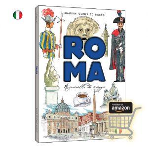 Roma aquarelles de voyage