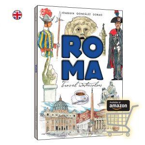 Roma travel watercolors
