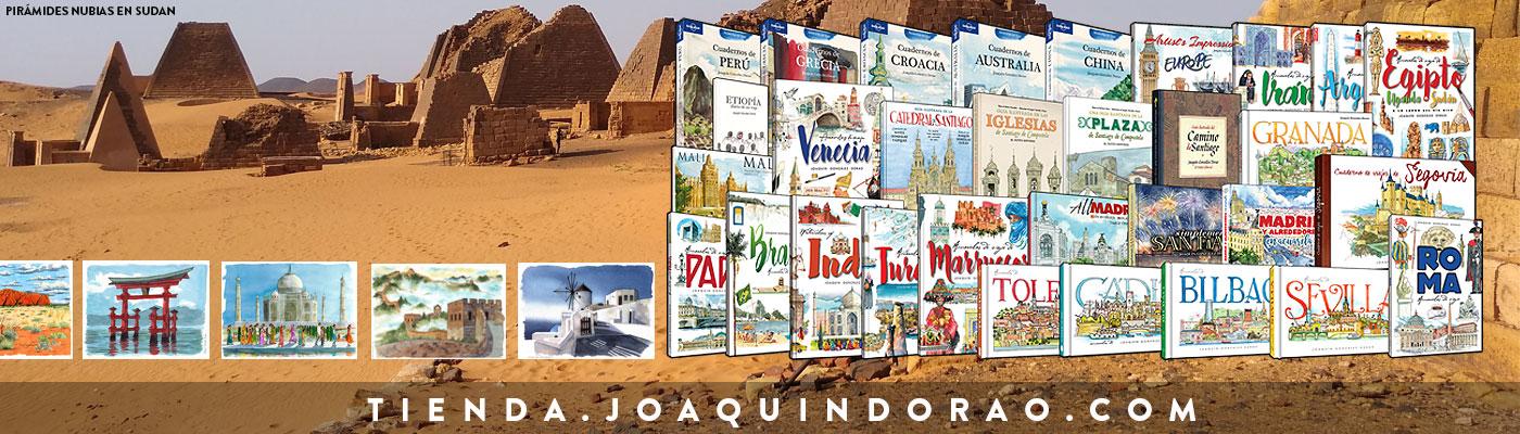 Acuarelas y cuadernos de viaje